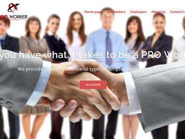 Pro Worker Staffing Solutions - Website