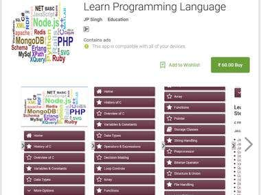 Learn Programming Language - Android App