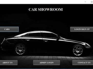 CAR SHOWROOM MANAGEMENT SYSTEM | JAVA APPLICATION
