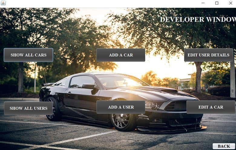 CAR SHOWROOM MANAGEMENT SYSTEM | JAVA APPLICATION | Freelancer