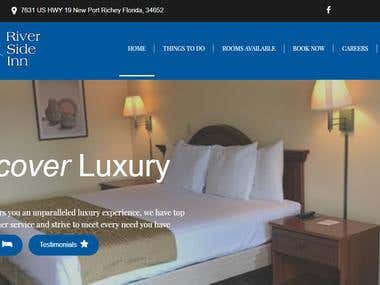Real estate website with Hotel booking