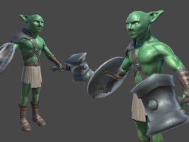 3d character modeling and texturing...