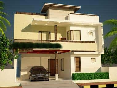 exterior designing of house