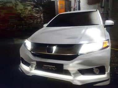 Honda City: Lighting Demo