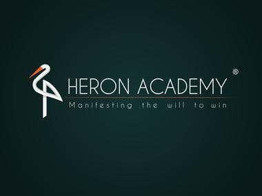 HERON ACADEMY | LOGO DESIGNING