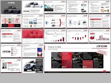 Bold, Serious PowerPoint Design for Company in United States