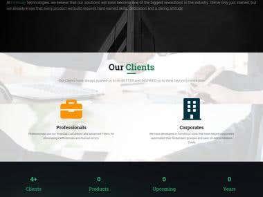 [Freelance] Frimsap Technologies Website
