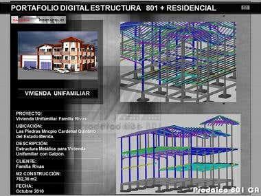 Structure Portafolio / Portafolio Estructura