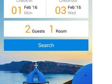 Hotel & Accommodation Booking App