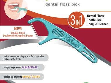 BFresh Dental Floss Pick