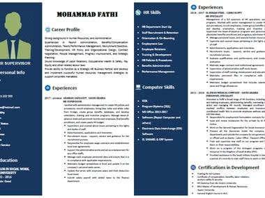 Resume Modify Spelling and Grammar