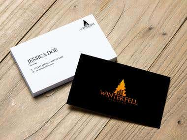 Business card designed by GraphiKMIRACLE