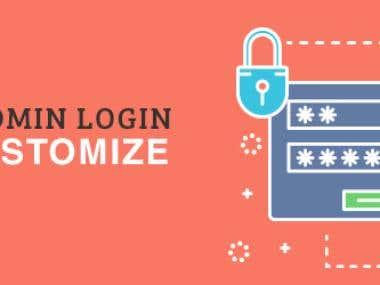 Secure Admin Logn