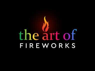 the art of fireworks logo