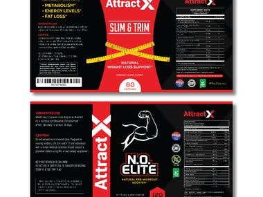 Attract X - Labels