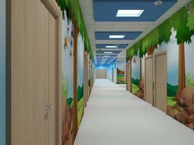 Corridors Kid's Department - Dubai (United Arab Emirates)