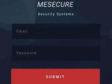 Mesecure Mobile Application