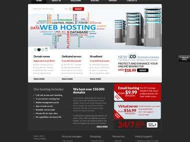 Hosting Website