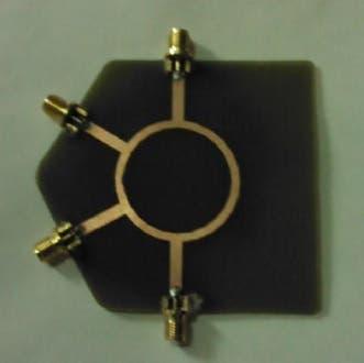 Microwave elements design