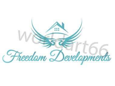 Freedom Developments logo design