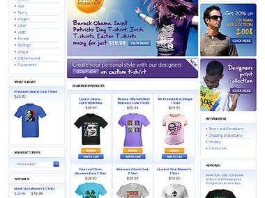 Oscommerce Shopping Site