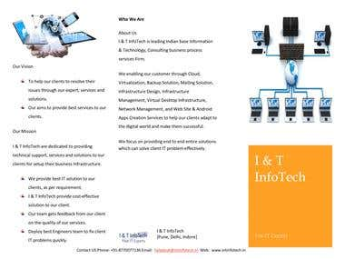 I & T InfoTech is leading Indian base IT Firm