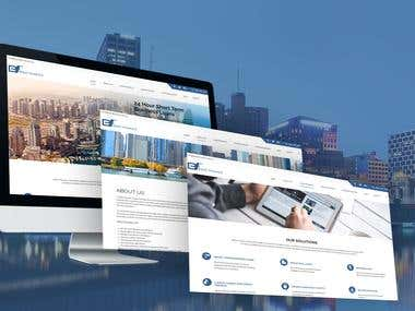 Finance Company Website