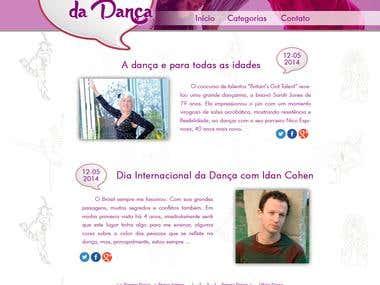 Blog Cantinho da Dança
