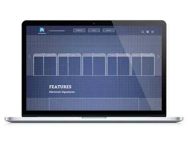 Web and desktop application design