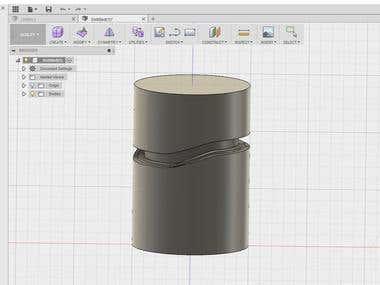Cylinder/barrel Cam