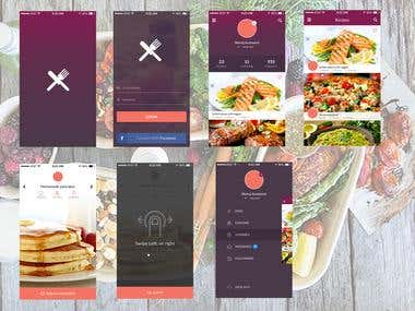 Home Made Food Ordering App