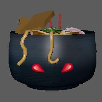 Angry Udon cup.