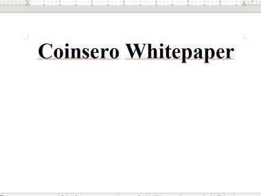Coinsero Whitepaper