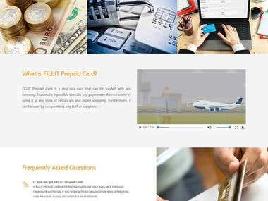 FILLIT Prepaid Card Platform Development
