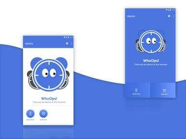 1 screen design