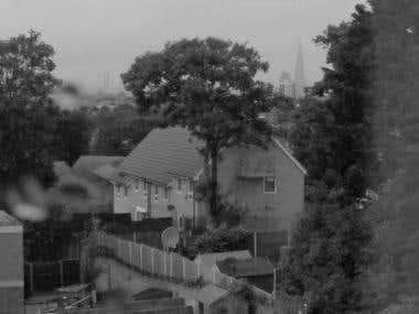 London through the window - Photography