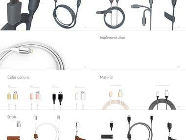 Brochure Apple Lightening Cable