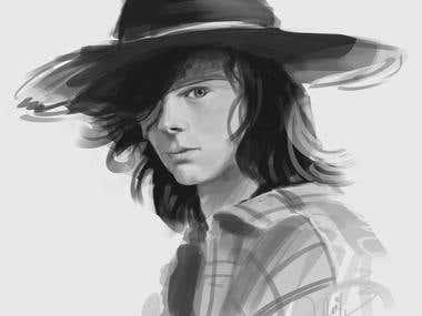 Digital art - Portrait