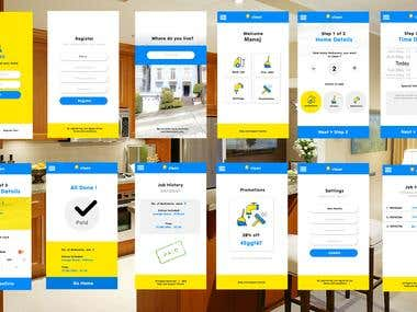 Home Cleaning Services App