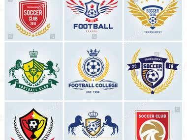 FOOTBALL & SOCCER LOGO'S