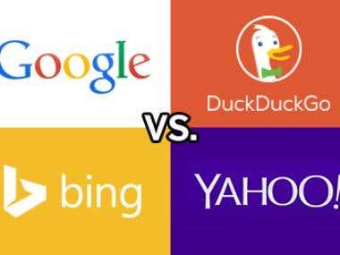 Google, DuckDuckGo, Bing SERP Scrapper
