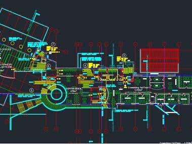 Architectural Drafting by using AutoCAD