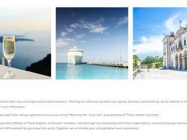 A-Z Web Content for a Luxury Travel Website