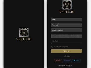Vertue app