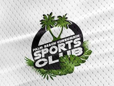 Sports Club Logo For Palm Beach