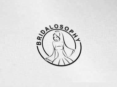 """Design a Logo of """"BRIDALOSOPHY"""""""