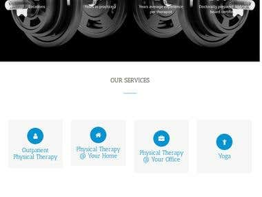 Corporate Website Design for Academy Physical Therapy