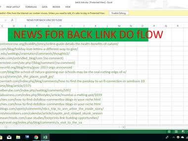 SEO Backlinking