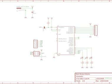 just a very simple schematic + pcb