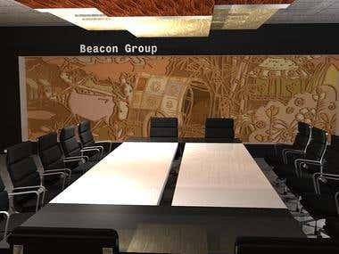 Interior design for Baccon...